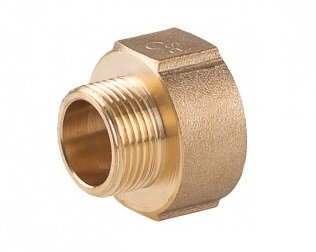 PHA308-strengthened-brass-reducing-sleeve-nipple-bushing